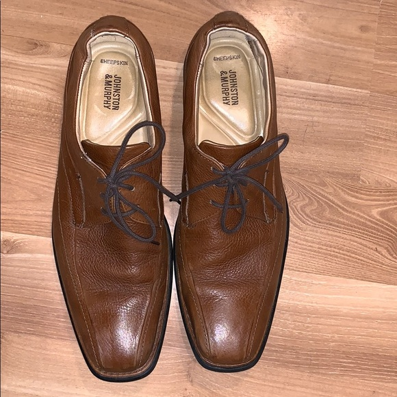 Johnston & Murphy Other - Johnston & Murphy sheepskin leather shoes size 11